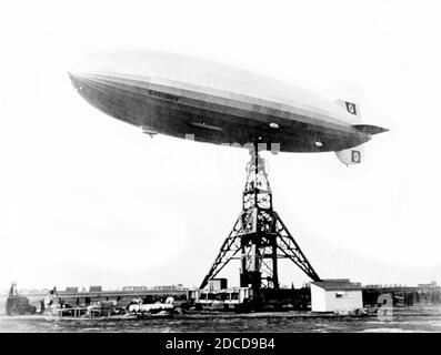Hindenburg Disaster, 1937 Foto Stock