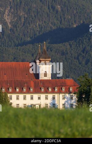 Geografia / viaggio, Germania, Baviera, Schlehdorf, monastero di Schlehdorf, alta Baviera, diritti aggiuntivi-clearance-Info-non-disponibile