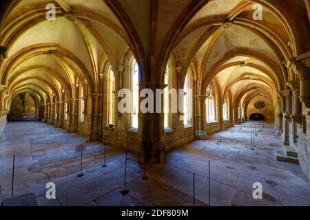Germania, Baden Wurttemberg, Maulbronn, monastero cistercense medievale (Kloster Maulbronn), patrimonio mondiale dell'UNESCO, il chiostro