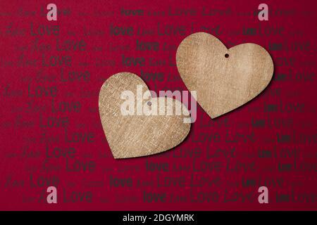 San Valentino sfondo con cuore