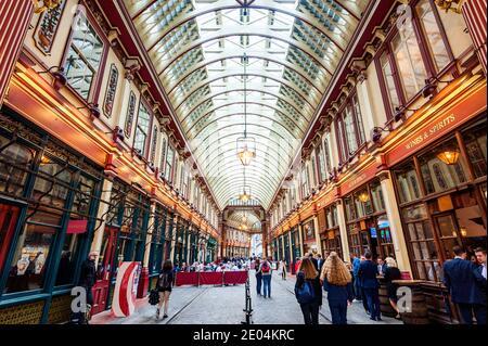 Mercato Leadenhall London Inghilterra England
