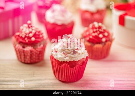 San Valentino amore cupcake