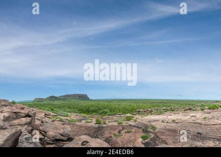 Kakadu National Park, Australia - la formazione rocciosa di Nourlangie nel Parco Nazionale di Kakadu nel territorio del Nord.