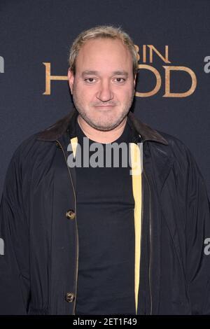 """Gregg bello partecipa alla proiezione """"Robin Hood"""" di New York all'AMC Lincoln Square Theatre di New York, NY, 11 novembre 2018. (Foto di Anthony Behar/Sipa USA) Foto Stock"""