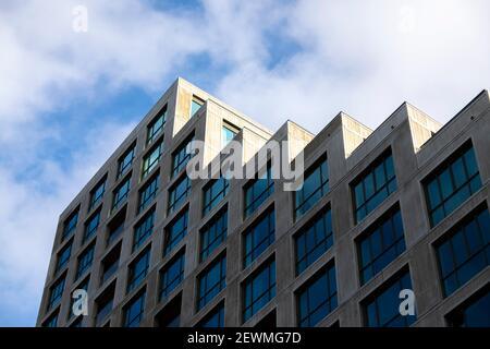 Architettura moderna a Strijp-S, Eindhoven, Paesi Bassi, Europa.