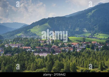 Geografia / viaggio, Germania, Baviera, chiesa parrocchiale di San Nicola in Pfronten, alta Bavari, Freedom-of-Panorama