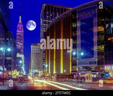 2004 STORICA MADISON SQUARE GARDEN (©CHARLES LUCKMAN 1968) OTTAVA AVENUE MANHATTAN NEW YORK CITY USA