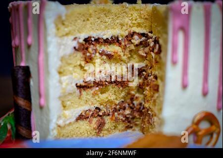 Torta dolci cibo Fotografia Foto Stock