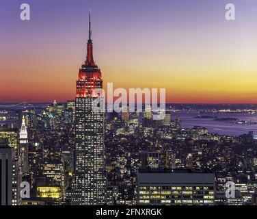 2005 STORICO EMPIRE STATE BUILDING (©SHREVE AGNELLO & HARMON 1931) MIDTOWN MANHATTAN NEW YORK CITY STATI UNITI