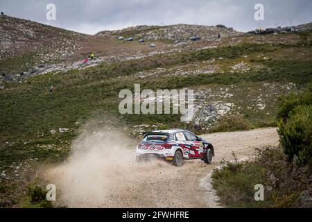 Matosinhos, Portogallo. 22 maggio 2021. Durante il Rally del Portogallo 2021, 4° appuntamento del FIA WRC 2021, Campionato Mondiale Rally FIA, dal 20 al 23 maggio 2021 a Matosinhos, Portogallo - Photo Paulo Maria / DPPI Credit: DPPI Media/Alamy Live News