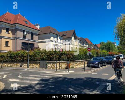 Parigi, Francia, dintorni, Scene di strada, alloggio, Le Perreux-sur-Marne