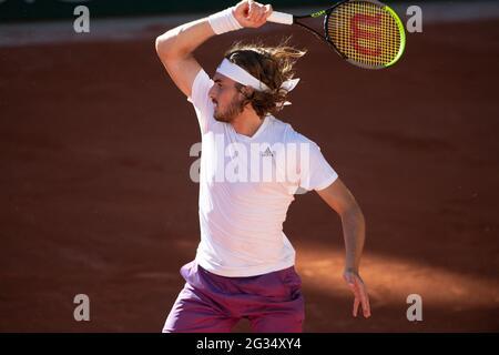 Parigi, Francia. 13 giugno 2021. Partecipa al 2021 French Open di Roland Garros il 13 giugno 2021 a Parigi, Francia. Photo by Laurent Zabulon/ABACAPRESS.COM Credit: Abaca Press/Alamy Live News