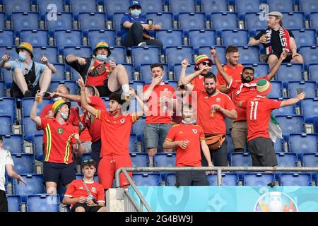Roma, Italia. 20 giugno 2021 durante la UEFA Euro 2020 Group UNA partita di calcio tra Italia e Galles allo stadio Olimpico di Roma (Italia), 20 giugno 2021. Photo Andrea Staccioli/Insifefoto Credit: Insifefoto srl/Alamy Live News