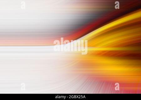 Multicolore linee ritorto con effetto fibra. Abstract sfondo fantasy