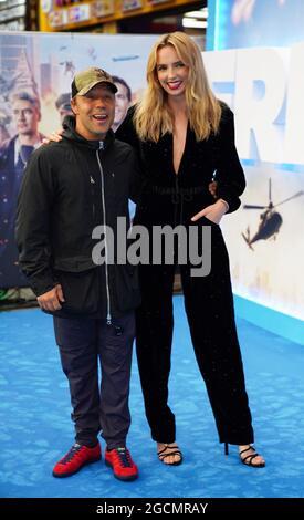 Jodie Comer e Stephen Graham arrivano a Cineworld Leicester Square, nel centro di Londra, per la prima volta del Free Guy. Data immagine: Lunedì 9 agosto 2021.
