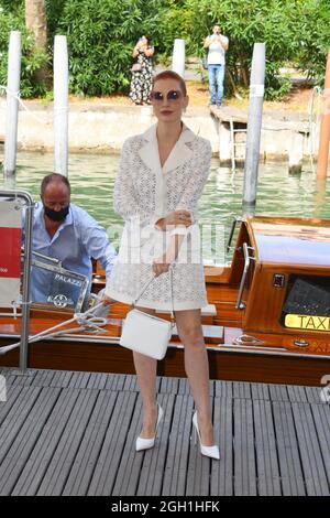 Venezia, Italia. 4 settembre 2021. 78th Phoenix Film Festival Arrivi nella foto: Jessica Chastain credito: Agenzia fotografica indipendente / Alamy Live News