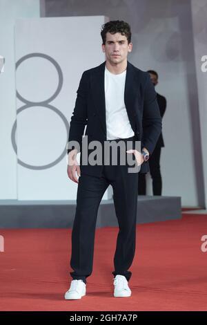 Venezia, Italia. 05 settembre 2021. Jaime Lorente ha partecipato al film Italia Award Red Carpet nell'ambito del 78° Festival Internazionale del Cinema di Venezia, il 05 settembre 2021. Photo by Paolo Cotello/imageSPACE Credit: Imagespace/Alamy Live News
