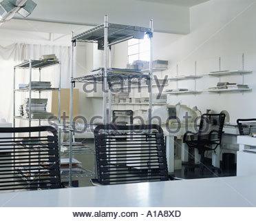 Un ufficio vuoto Foto Stock