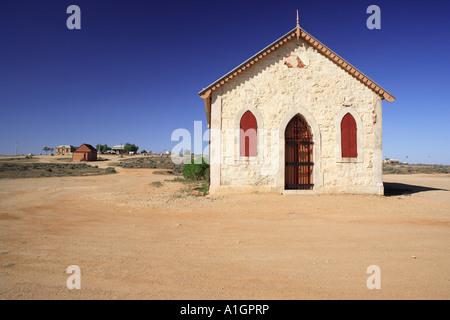 Storica Chiesa Metodista costruito nel 1885 Silverton vicino a Broken Hill Nuovo Galles del Sud Australia Foto Stock