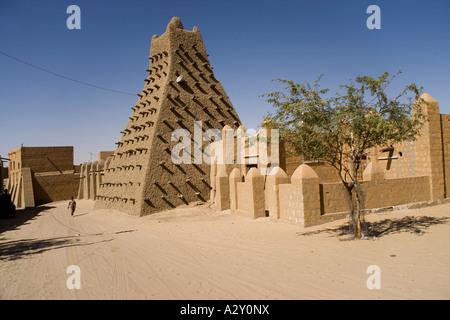 Sankore moschea a Timbuctù.Mali,Africa occidentale Foto Stock