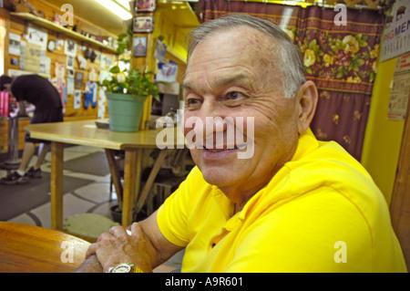 La collina di maiale in Ellijay Georgia al cibo stand gestito da col Ministro Poole suini hanno nomi di ospiti su Foto Stock