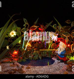 Midnight Fantasy giardino. Foto Stock