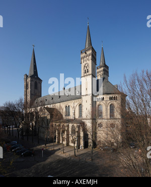 Köln, San Severin, Blick von Südwesten Foto Stock