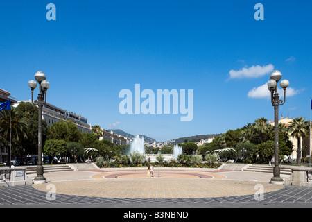 Place Massena, Nizza Cote d'Azur, Costa Azzurra, Francia Foto Stock