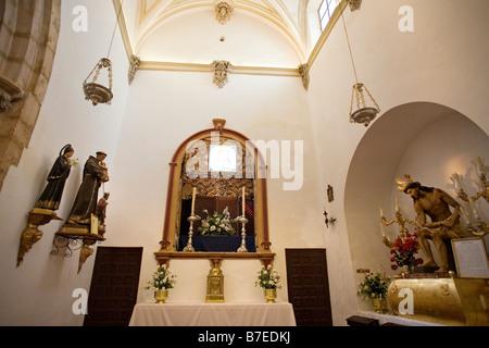 Chiesa di Padre Gesù Ronda Serrania de Ronda Malaga Andalusia Spagna Foto Stock