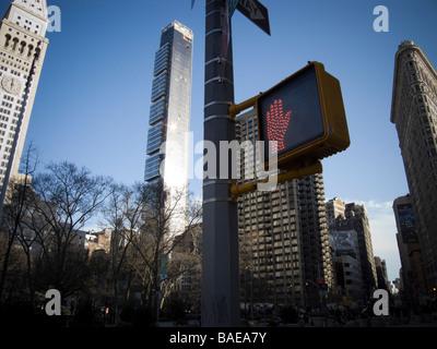 Costruzione vicino Madison Square Park di New York Foto Stock