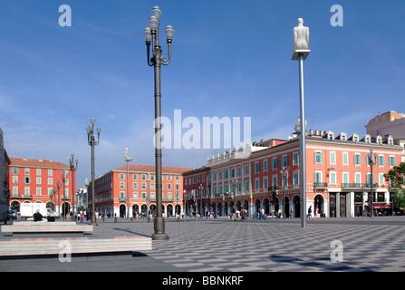 Geografia / viaggi, Francia, Cote d'Azur, Nizza, piazze, Place Massena, Additional-Rights-Clearance-Info-Not-Available Foto Stock