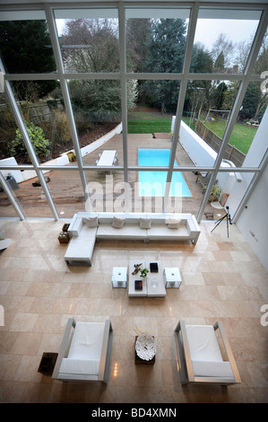 La Casa Blu IN SNEYD PARK BRISTOL come presenti nel canale quattro S GRAND DESIGNS UK Foto Stock