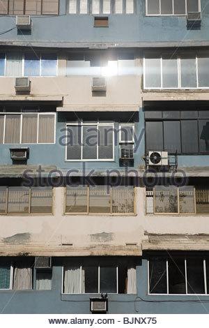Facciata di un edificio Foto Stock