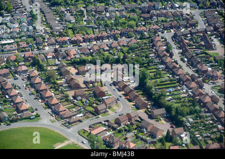 Suburban Gran Bretagna, Nottingham East Midlands, England, Regno Unito Foto Stock