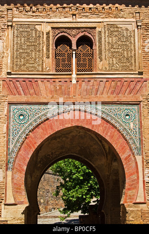 Puerta del Vino, Alhambra Palace, Granada, Andalusia Foto Stock
