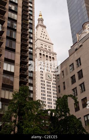 Metropolitan Life Insurance Company edificio o Met Life Tower, grattacielo, One Madison Avenue, Manhattan, New York Foto Stock