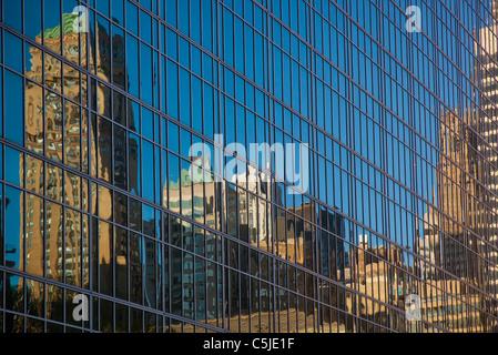 Edificio abstracts windows Foto Stock