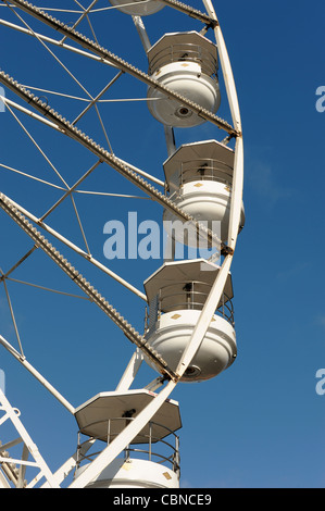 Fiera ruota panoramica Ferris Foto Stock