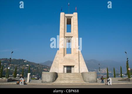 Monumento ai Caduti monumento ai caduti in guerra (1931) Como Città Regione Lombardia Italia Europa Foto Stock