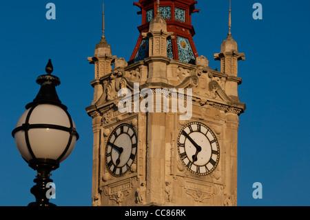 Margate Torre dell'orologio. Margate. Isola di Thanet. Kent England Regno Unito Foto Stock