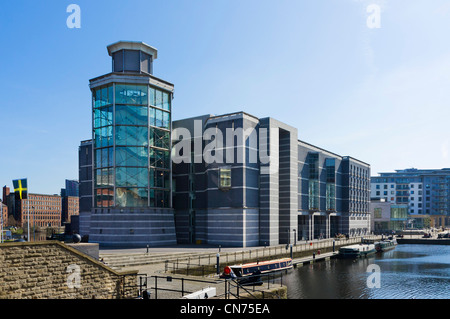 Royal Armouries Museum, Clarence Dock, Leeds, West Yorkshire, Inghilterra Foto Stock