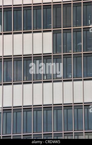 Kranhaus, gru House Edificio per uffici, in porto Rheinauhafen, Colonia, nella Renania settentrionale-Vestfalia, Foto Stock