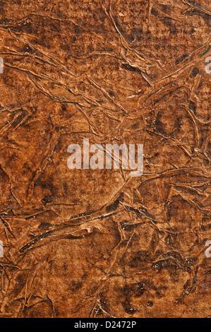 Vecchia pelle rugosa di sfondo Foto Stock