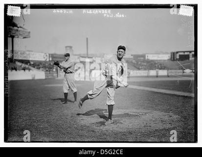 [Grover Cleveland Alexander, Philadelphia, NL (baseball)] (LOC) Foto Stock