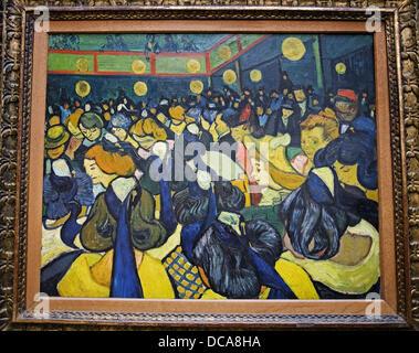 La Salle de danse a Arles, 1888, Vincent Van Gogh, il Museo d' Orsay, Parigi, Francia Foto Stock
