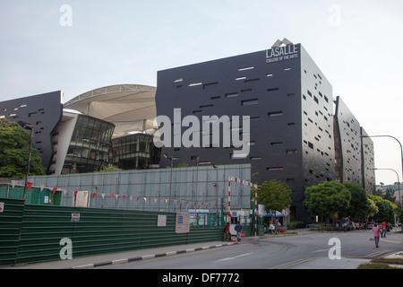Lasalle College of Arts edificio città di Singapore, Singapore, Asia Foto Stock