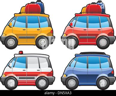 Minivan, ambulanza Foto Stock