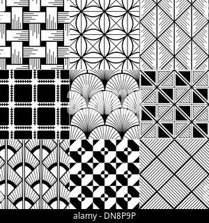 Seamless astratto modello geometrico Foto Stock