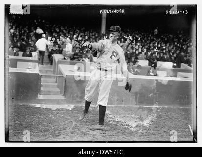 [Grover Cleveland Alexander, Philadelphia NL (baseball)] (LOC) Foto Stock