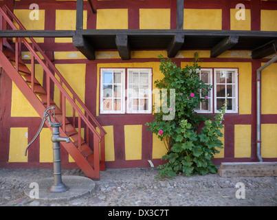 Grenaa, Jutland, Danimarca Foto Stock